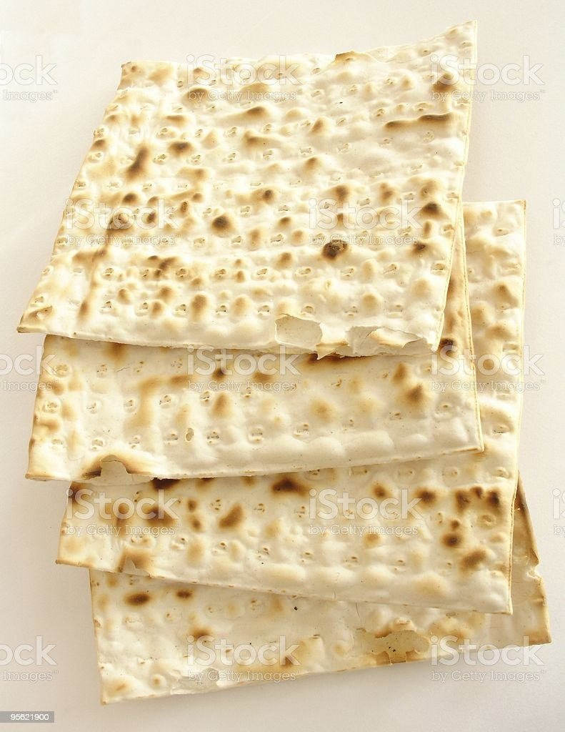 matzo - jewish passover bread royalty-free stock photo