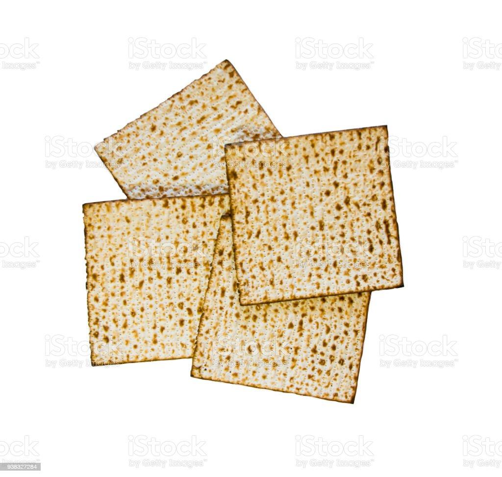 Matzo, Matzoth for Jewish Passover stock photo