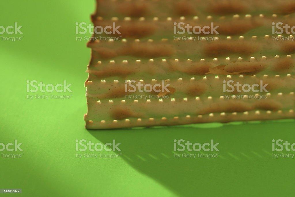 Matzo stock photo