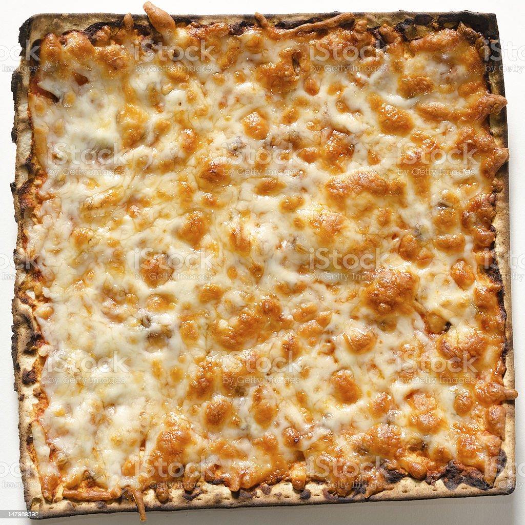 Matzo Pizza stock photo