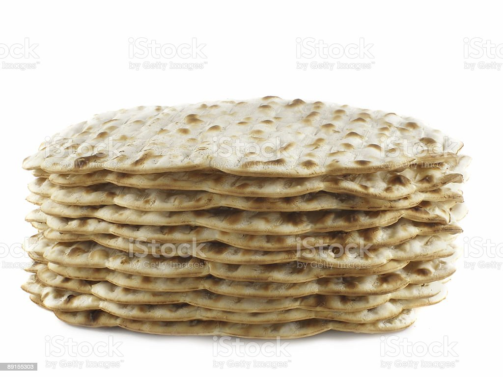 Matzoh royalty-free stock photo