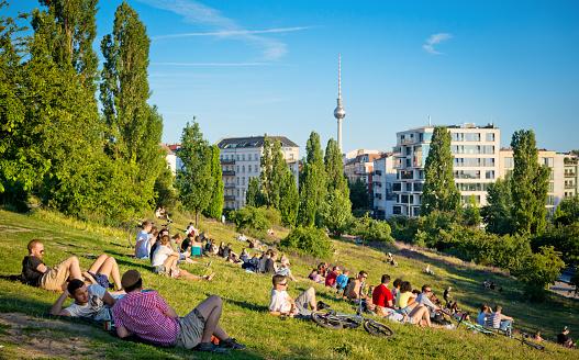 Mauerpark in Berlin, Germany