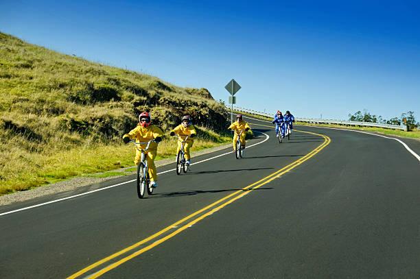 Maui Downhill stock photo