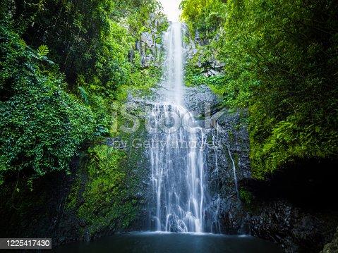 istock Maui, Hawaii Hana Highway, Wailua Falls, near Lihue, Kauai in Road to Hana 1225417430