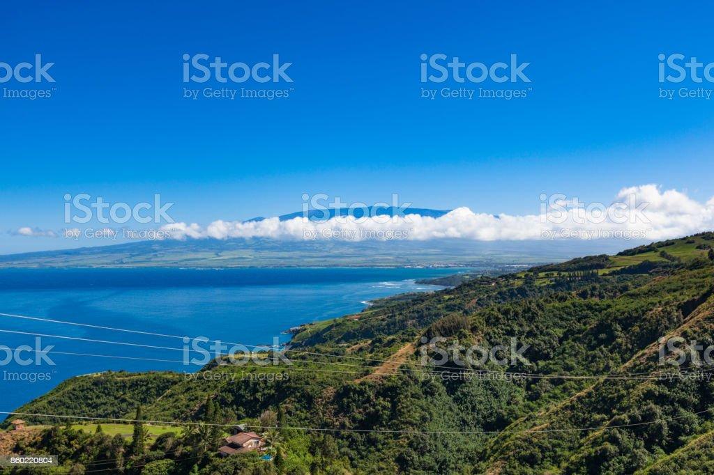 maui island north coast stock photo