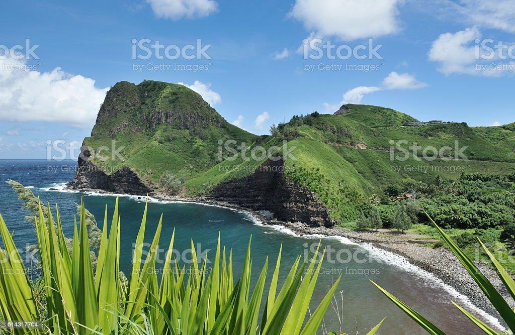 Maui, Kahakuloa Head, Hawaii stock photo
