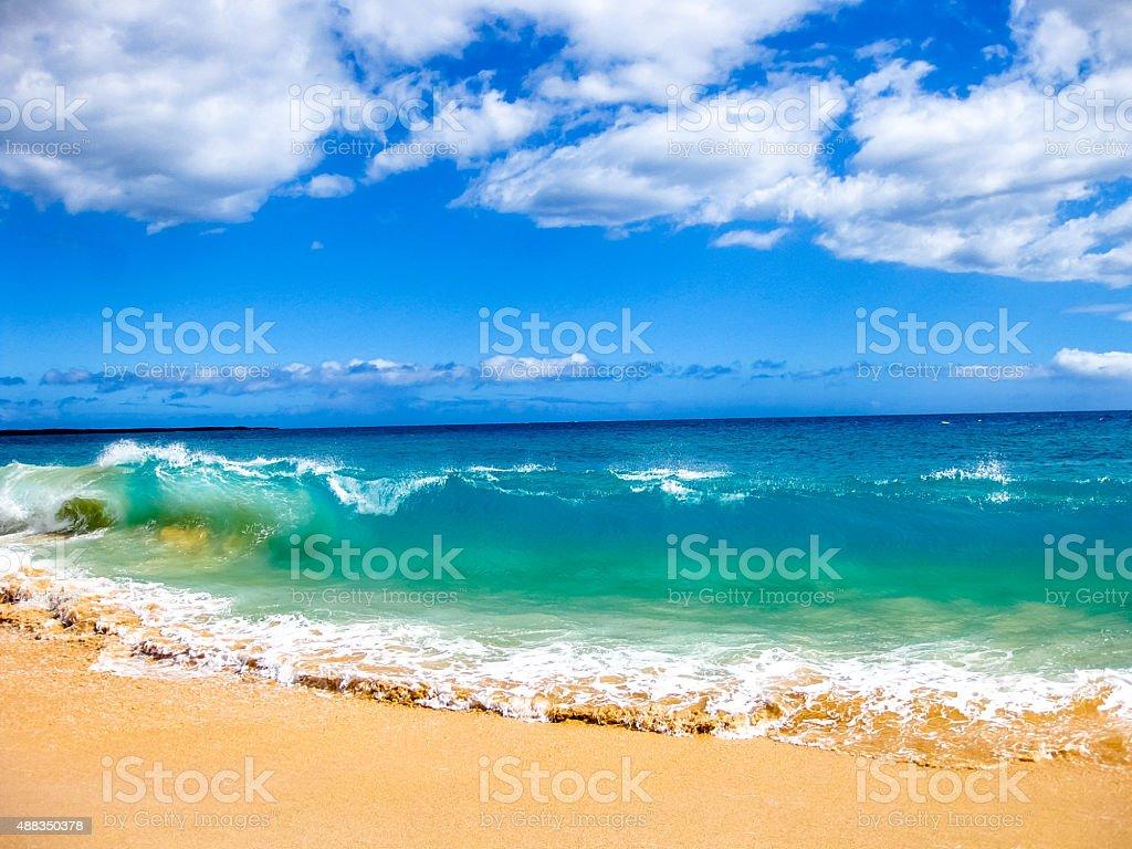 Maui Waves stock photo
