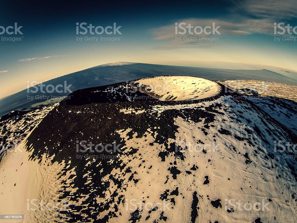Mauna Kea 1 stock photo