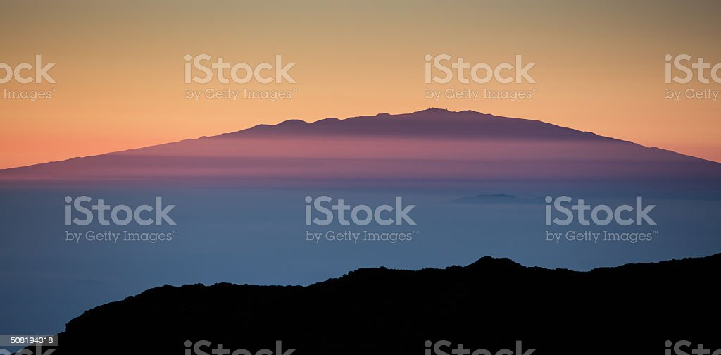 Mauna Kea, Hawaii stock photo