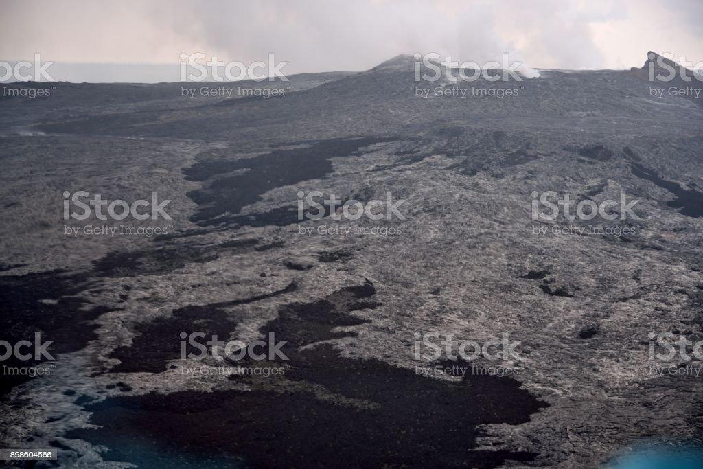 Mauna Kea Lava Field stock photo