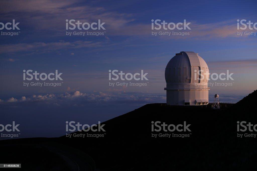 Mauna Kea Observatories stock photo