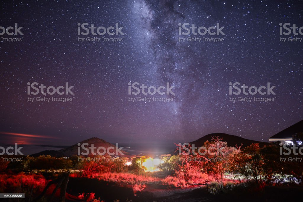Mauna Kea stock photo