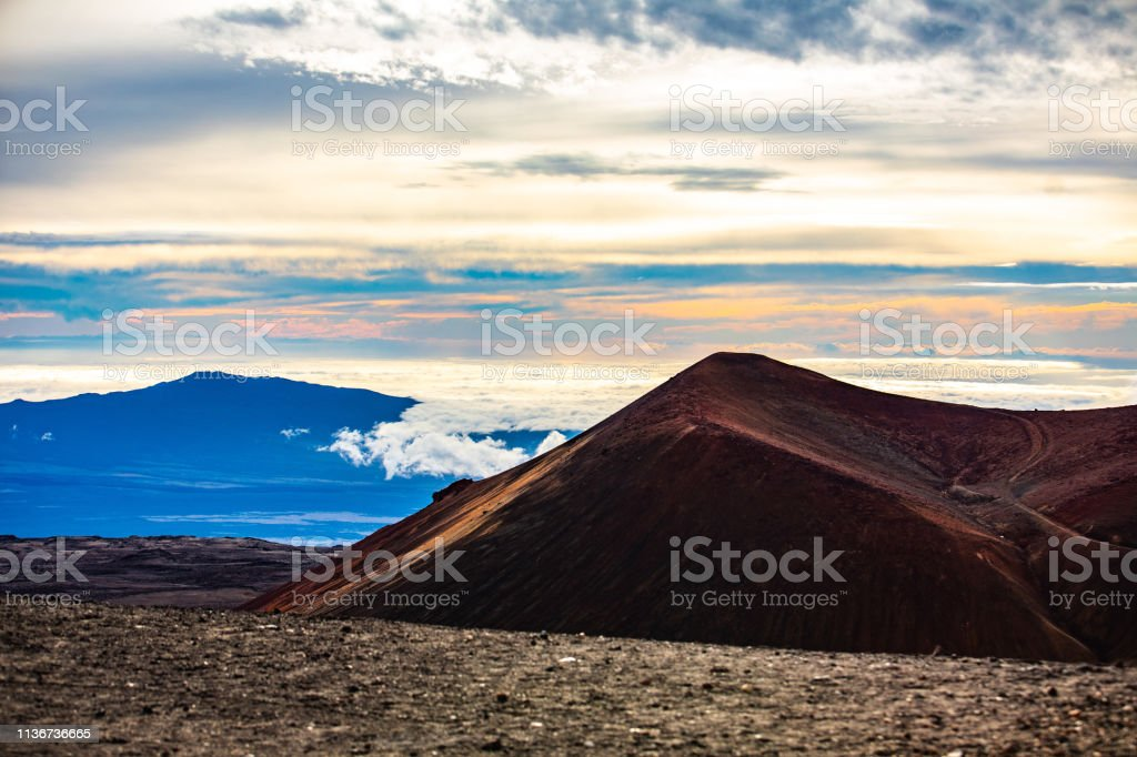 Mauna Kea Summit stock photo