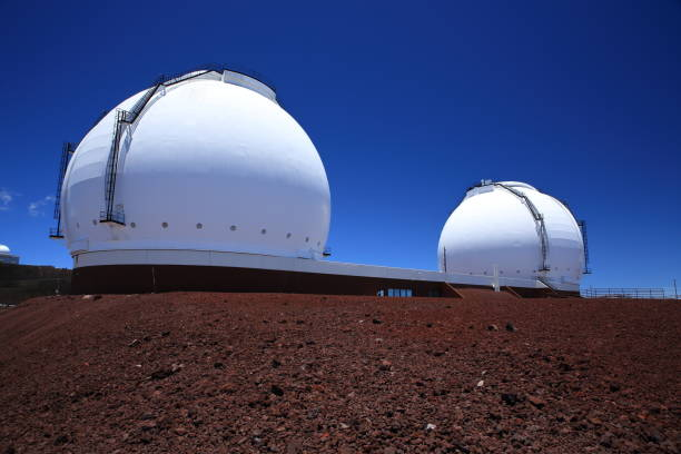 Mauna Kea télescopes , Big Island, Hawai - Photo
