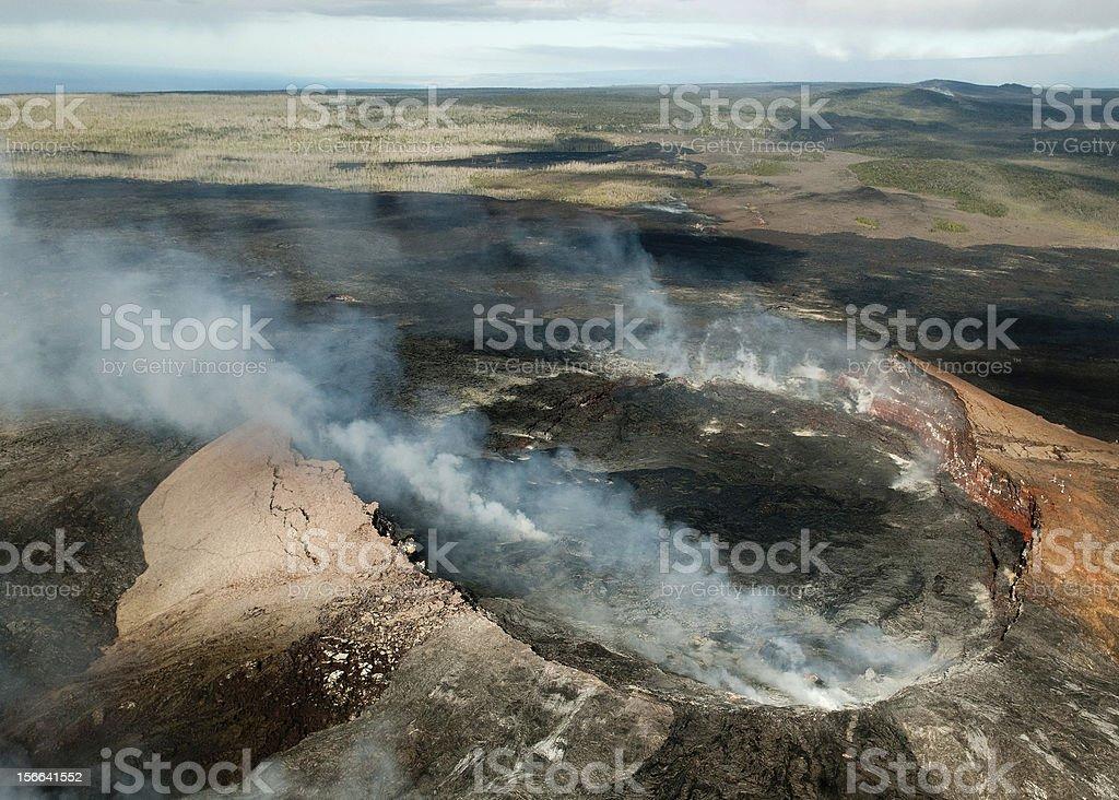 Mauna Kea Volcano in Hawaii royalty-free stock photo