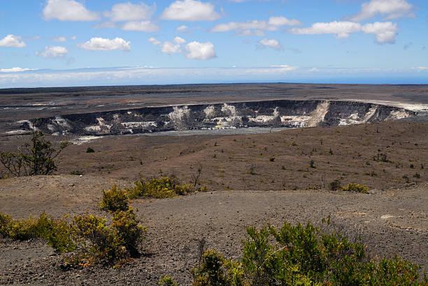 Mauna Loa Volcano stock photo