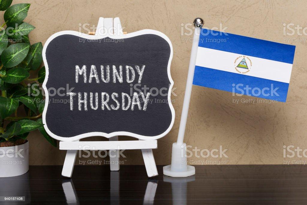Jueves Santo, - vacaciones en Nicaragua - foto de stock
