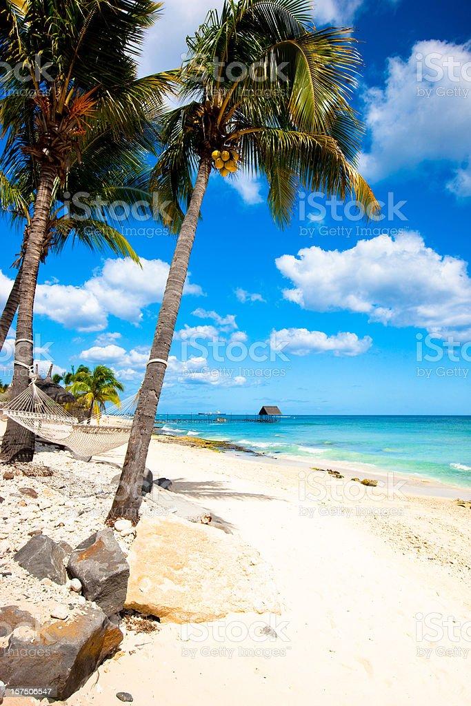 Mauritius beach royalty-free stock photo