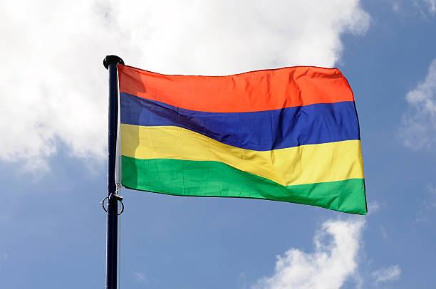 Mauritius-Flagge – Foto