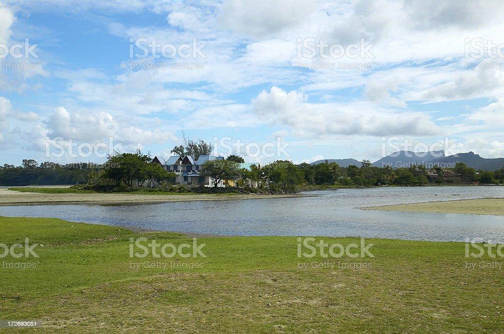 Mauritius landscape royalty-free stock photo
