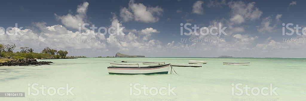 Mauritius Panoramic royalty-free stock photo