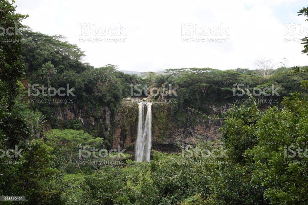 Mauritius waterfall photo libre de droits