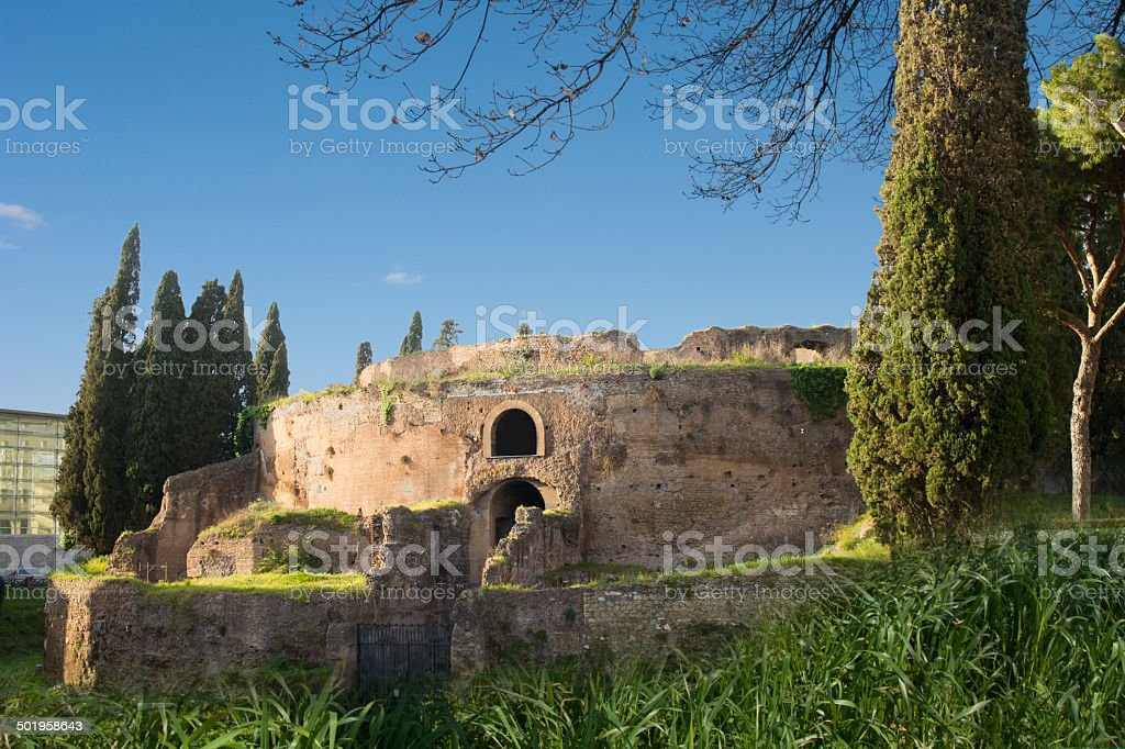 Mausoleo di Augusto stock photo