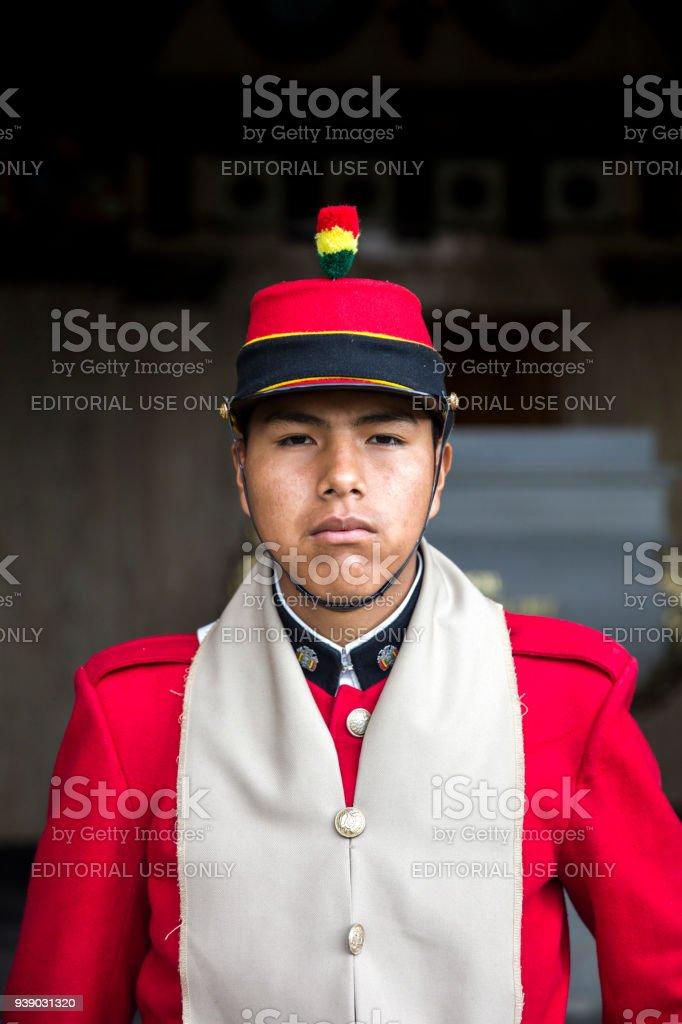 ラパス ボリビアの元帥アンドレ...