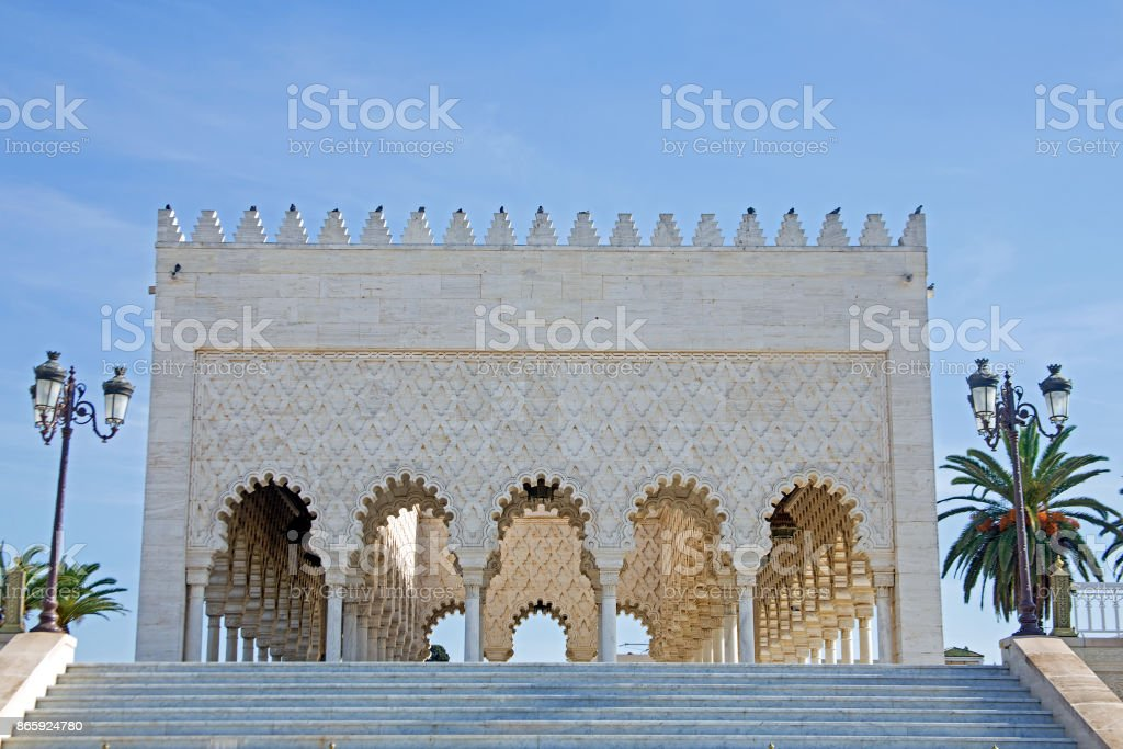 Mausoleum of Mohammed V in Rabat, Morocco