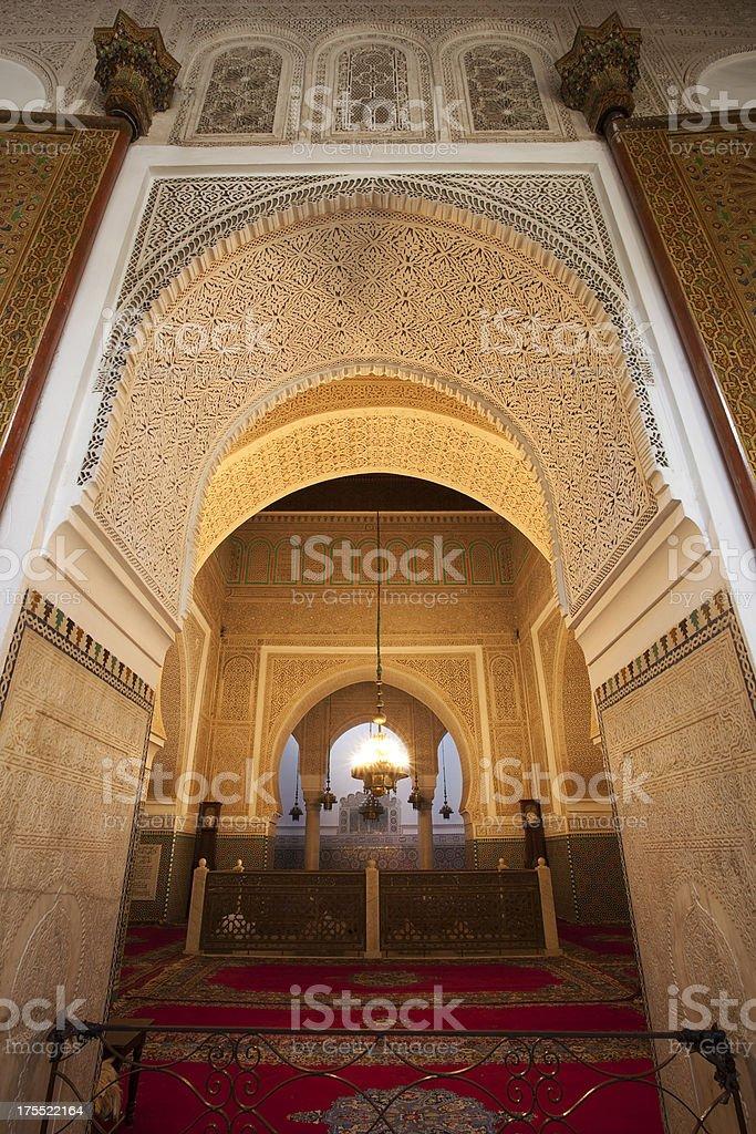 Moulay Ismail Mausoleum, Meknes, Marokko – Foto