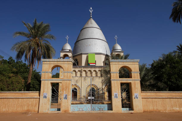 Mausoleum of the Mahdi, Omdurman Omdurman is the second largest city in Sudan and Khartoum State, lying on the western banks of the River Nile, opposite the capital, Khartoum. omdurman stock pictures, royalty-free photos & images