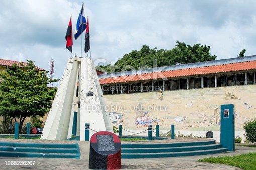 Leon, Nicaragua, September 2014: Mausoleo a los Heroes y Mertiresde la Revolucion