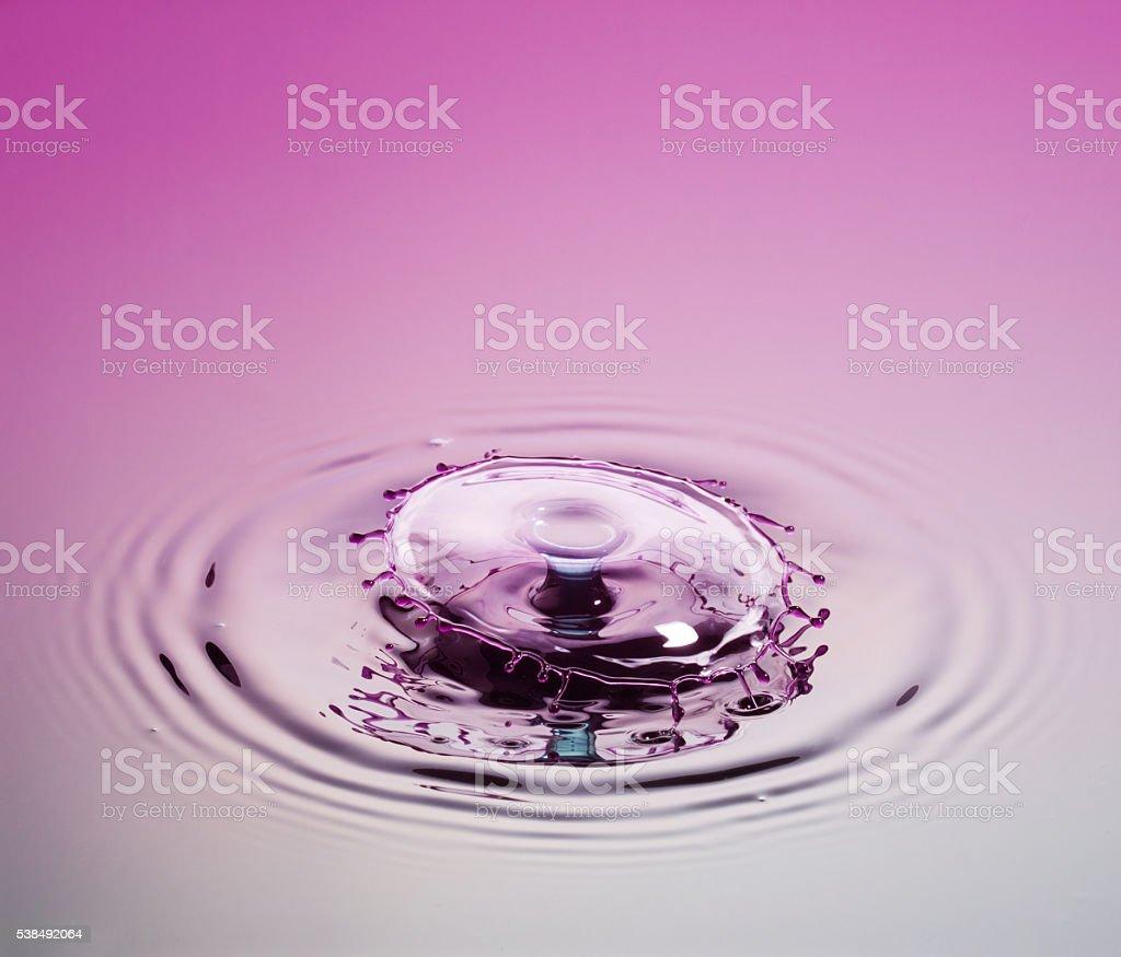 Mauve Glass. stock photo