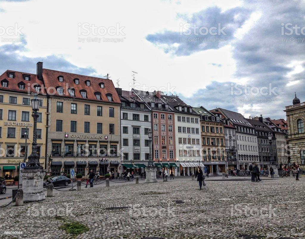 Max Joseph Platz,Munich, Germany stock photo