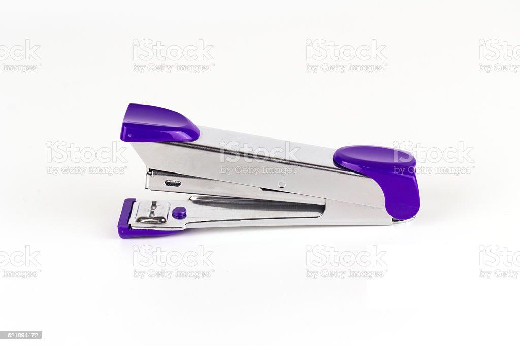 Max stapler on white background stock photo