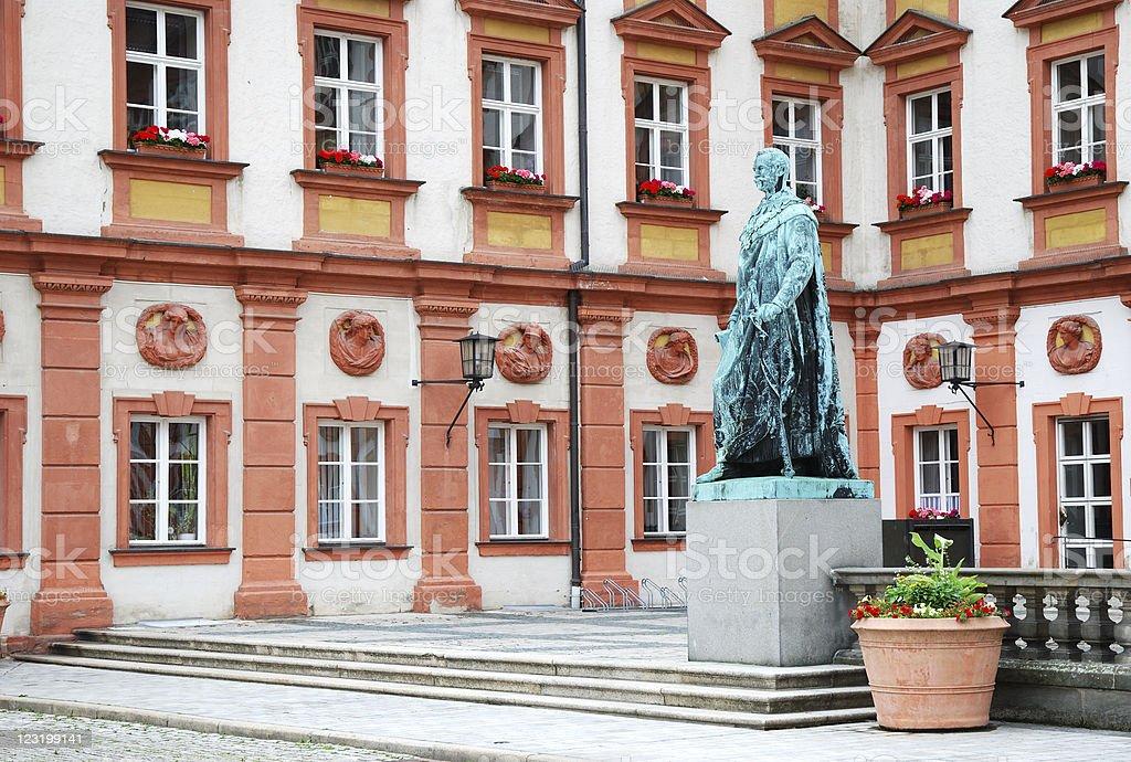 Maximilian monument stock photo