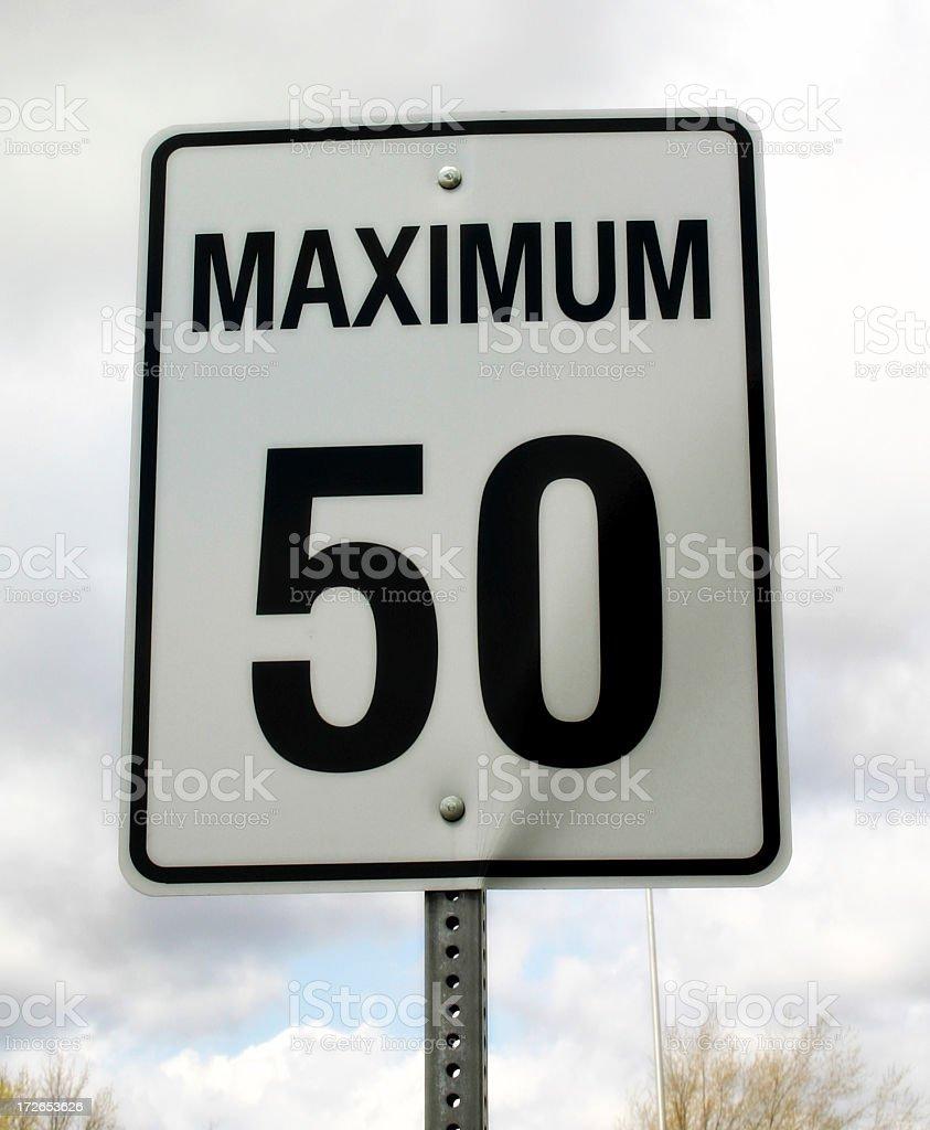 Maximum 50 royalty-free stock photo