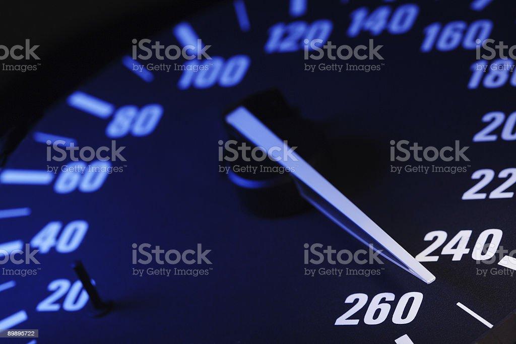 maximum speed royalty-free stock photo