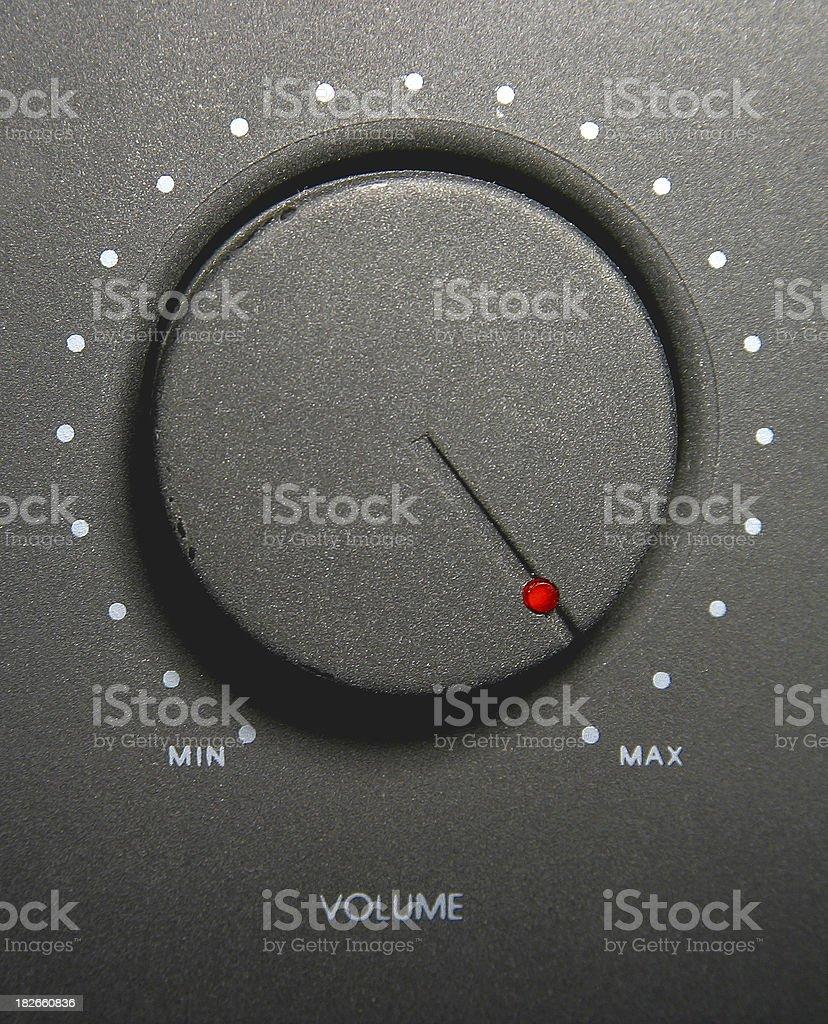 Maximum Volume stock photo