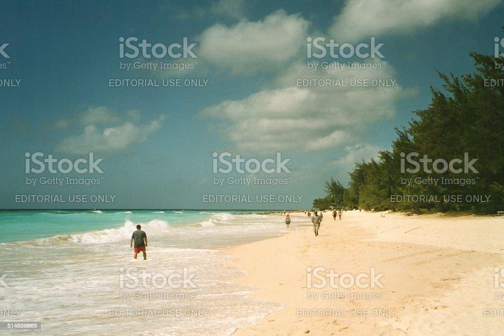 Maxwell Beach, Barbados stock photo