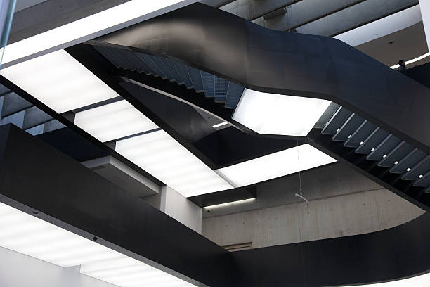 Maxxi Museum in Rome - Inside stock photo