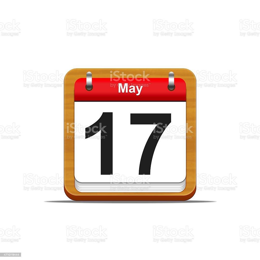 May 17. stock photo