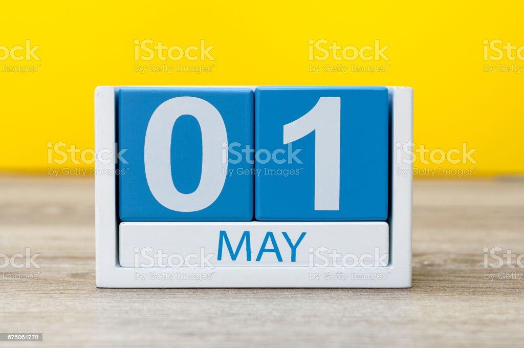 May 1st aka May Day stock photo