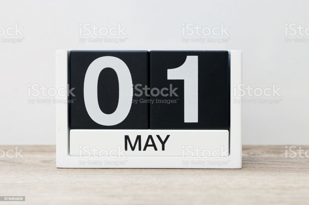May 1st aka May Day stock photo