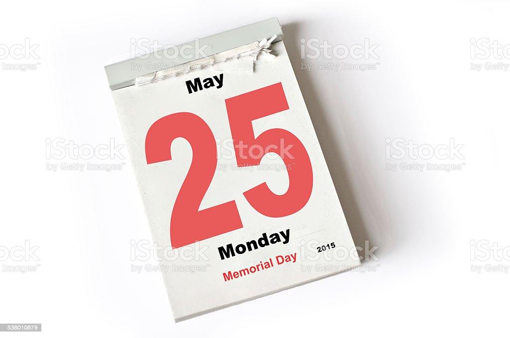 25. El día de mayo de 2015 - foto de stock