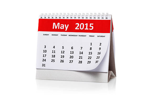 May 2015 stock photo