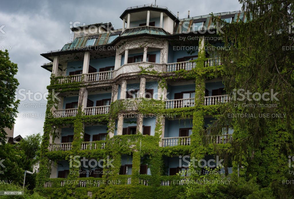 BLED, SLOVENIA - May 21, 2017 stock photo