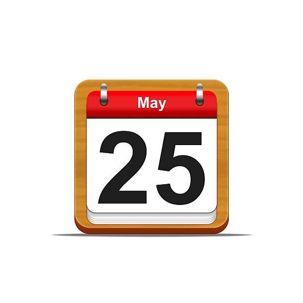 25 de mayo. - foto de stock