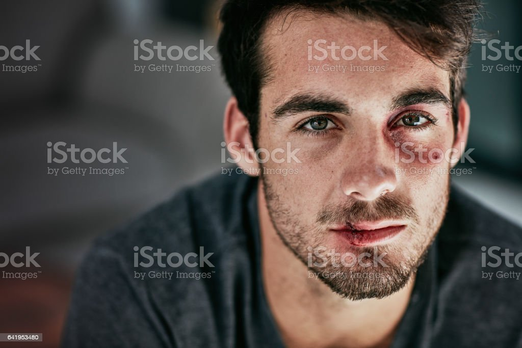 I may be beaten but I won't be broken stock photo