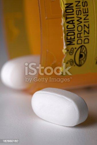 Prescription drugs. Label reads